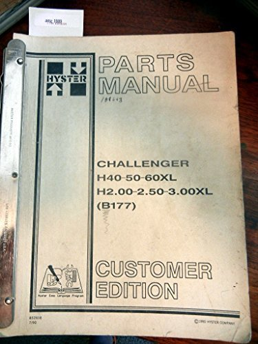 Hyster 50 forklift manual