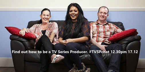Want to be a TV Series Producer? Find out how in our Twitter chat this Thursday:  #TVSPchat 12.30pm, 17/12 https://t.co/MXOtJPN8CI