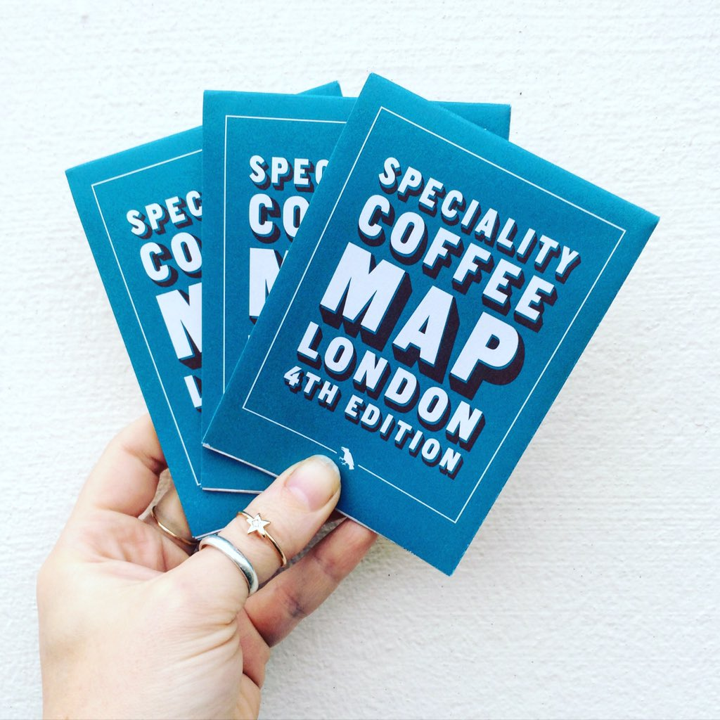 The 4th @coffeelondon map is here! Curated by myself, Derek & @philwbass - would make a cool stocking filler https://t.co/yw9buHLkkd