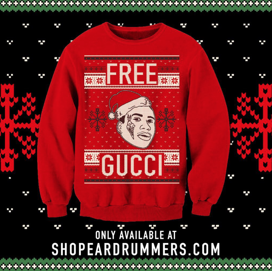 Fact On Twitter Also Beautiful Gucci Manes Christmas Sweaters