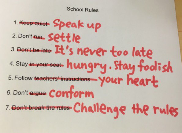 School Rules... https://t.co/ygmFSfPxwy