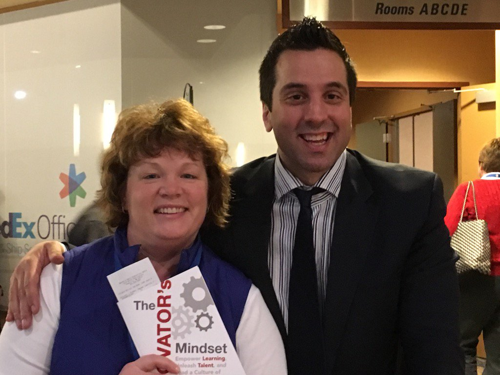 Best keynote ever! Thank you @gcouros! You are truly an inspiration!! #TIES15 https://t.co/7swQc8DuaU
