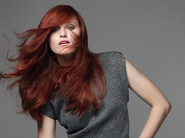 Want festive flash and flare? Try a ravishing red hair color! The 3rd Shade of the Holidays.