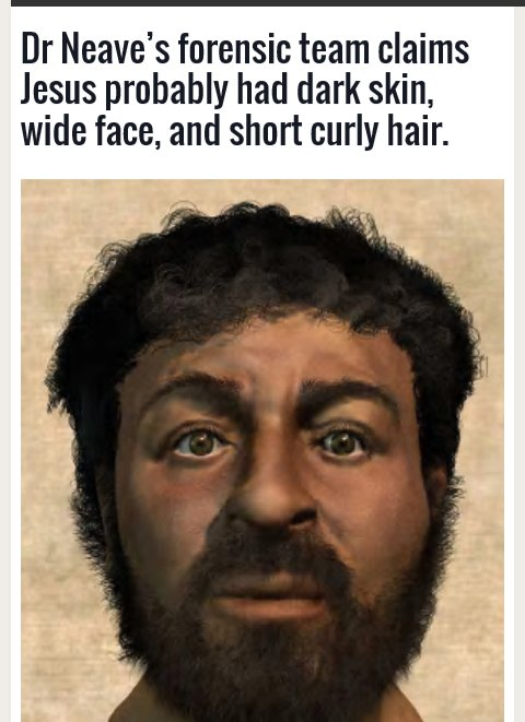 Mmnjug On Twitter Forensic Scientists Reveal The Real Face Of Jesus Christ Https T Co X52zuke3q9 Cc Owaahh Https T Co Rrvyxqrlxl