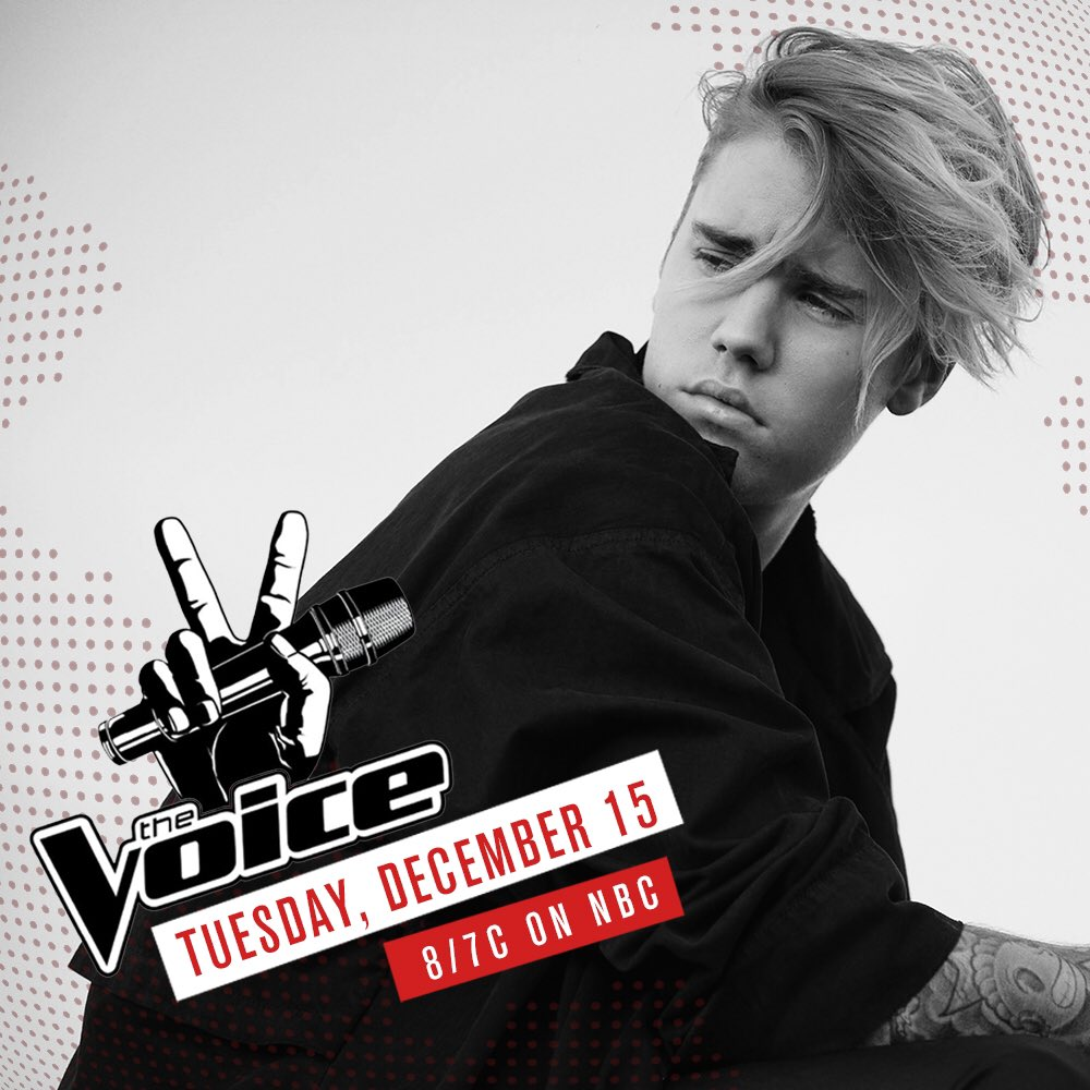 Performing on the #VoiceFinale tonight. #BieberOnTheVoice