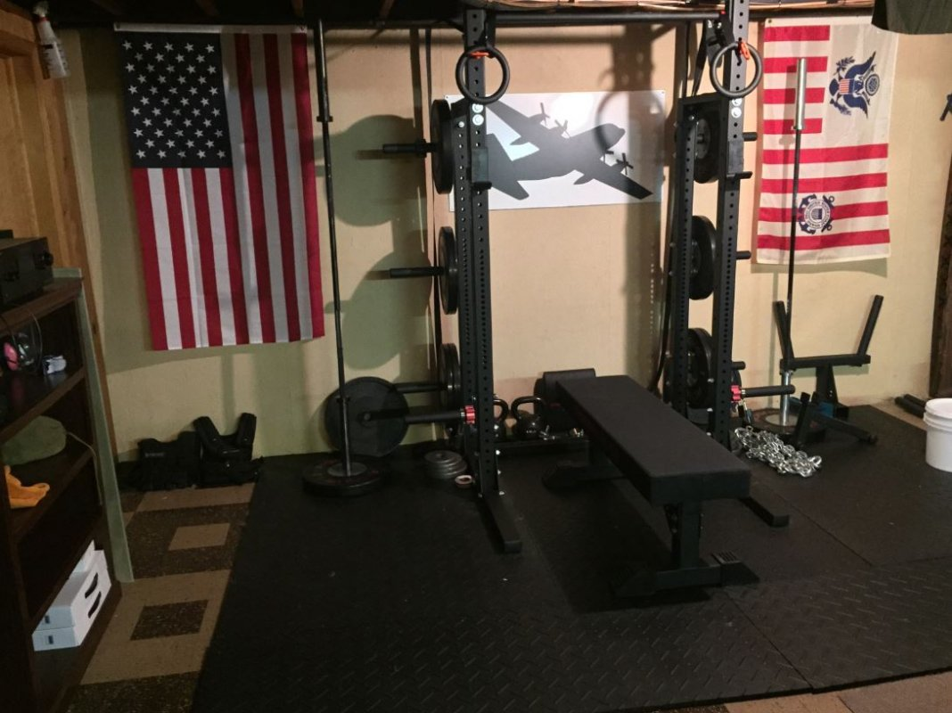 Rogue fitness on twitter quot garage gym setup courtesy of