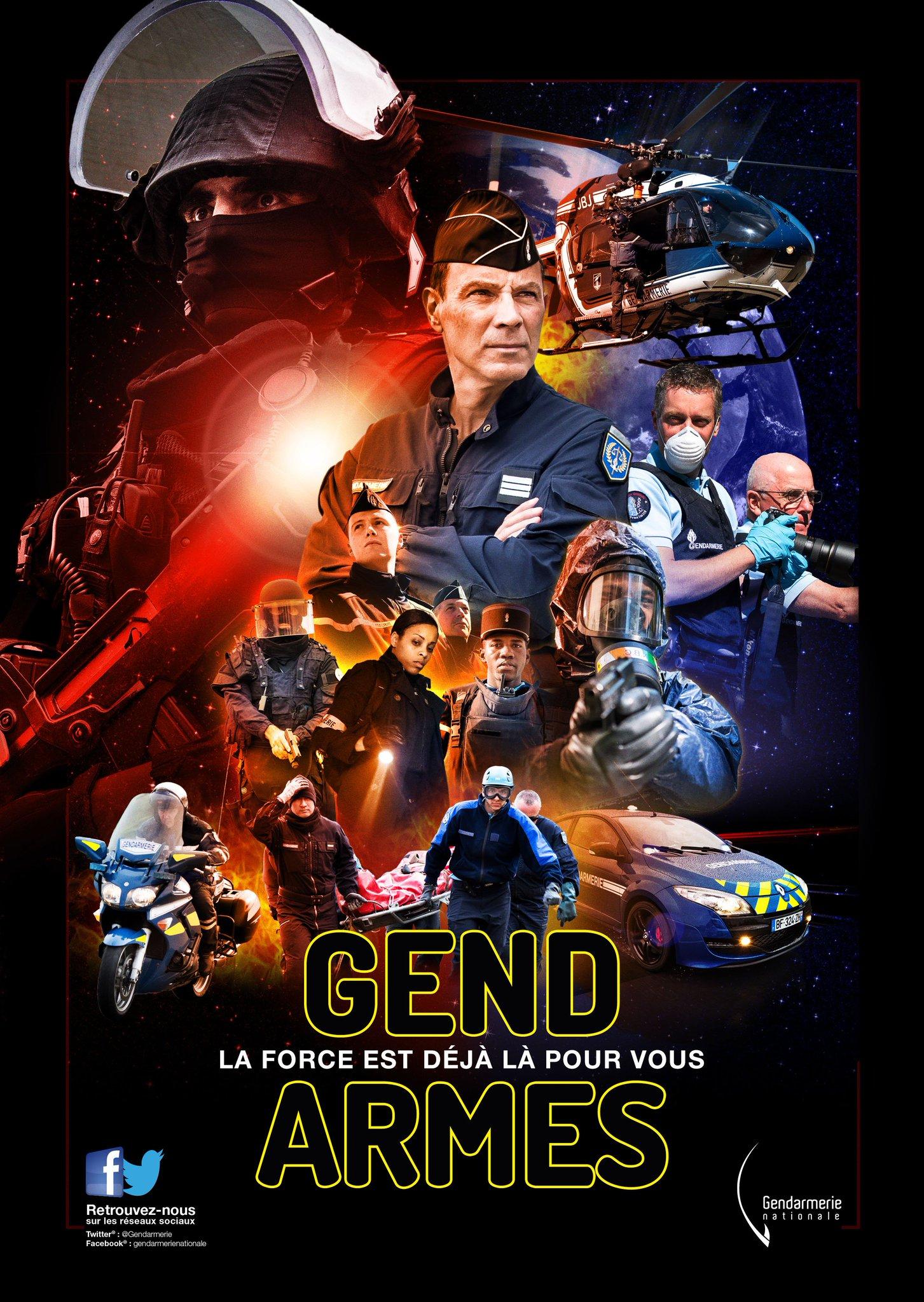 Gendarmerienationale on twitter starwars fan de la saga for Gendarmerie interieur gouv