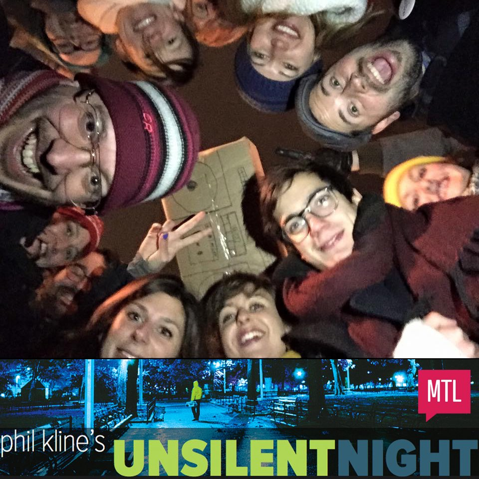 #CreativeMornings #MTLCM crew & community at #UNSILENTNITE in #Montreal! https://t.co/oyQO4jzxwZ