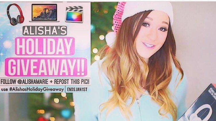 Alisha marie christmas giveaways