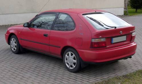 Palmy: Red Toyota Corolla rego UC7833 (similar to pic) involved in home burglary. Police say call 111 if seen https://t.co/N6iNiJ6YUf