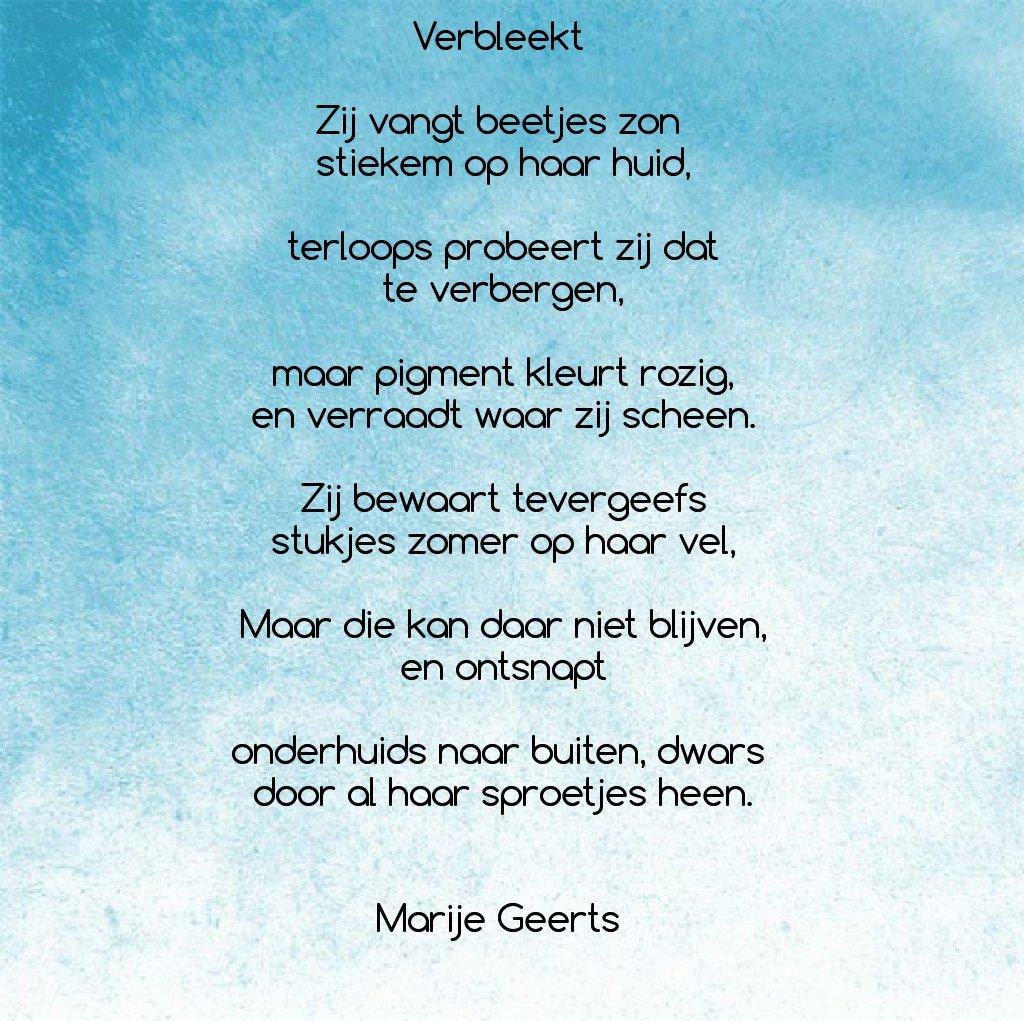 Marije Geerts Twitterren Thoughtry Nr90 Gedicht Poezie