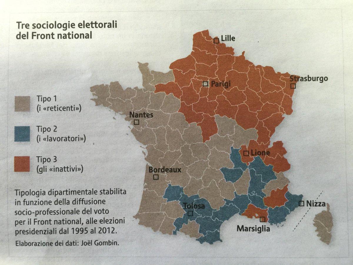 #DailyMap 16/12 Qual è la composizione dell'elettorato del #FN in #Francia e dove si trova? #ddj #mapjournalism https://t.co/o2HaUsEeF3