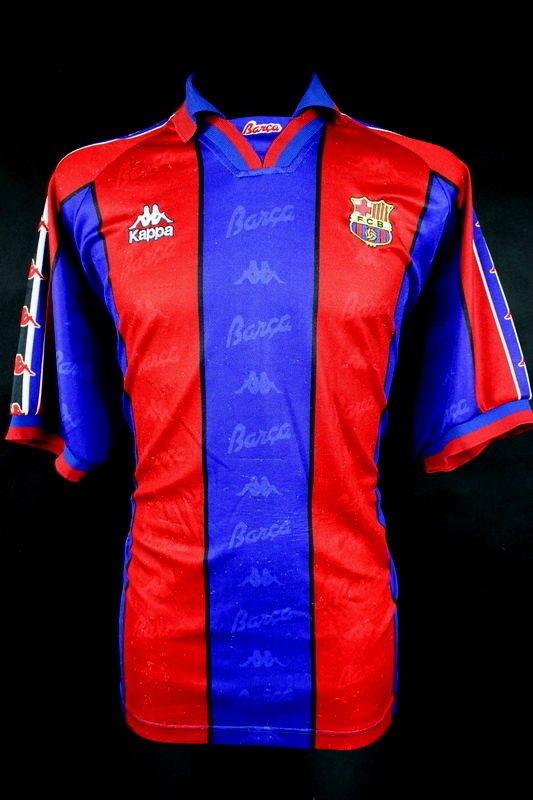 756b5a59ee7 RARE RETRO SHIRT FC @FCBarcelona BARCA KAPPA 1997/1998 HOME VINTAGE JERSEY L  #BARCELONA ...