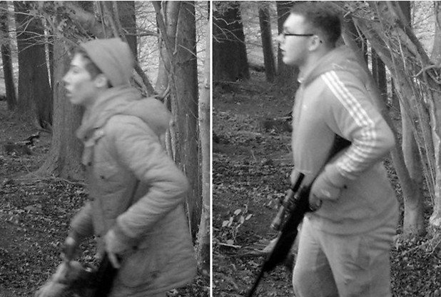 Cash reward if you can name armed poachers caught on camera in Plymouth https://t.co/H0kXy1hvVg https://t.co/Dtwy2jiizk