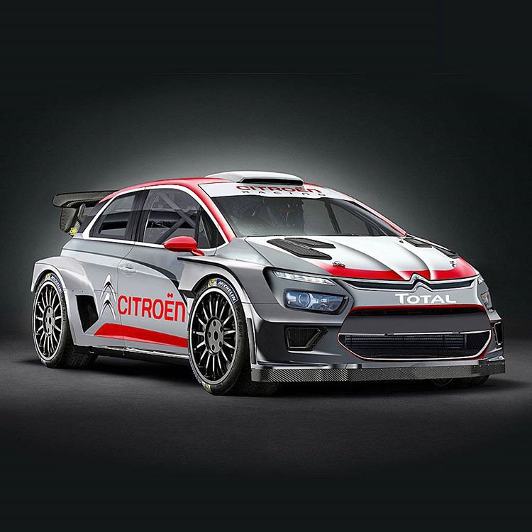 If @CitroenRacing @OfficialWRC 2017 car looks anything like this, they are on to a winner! Pic via @rallyemag https://t.co/WM7ibiEcMe