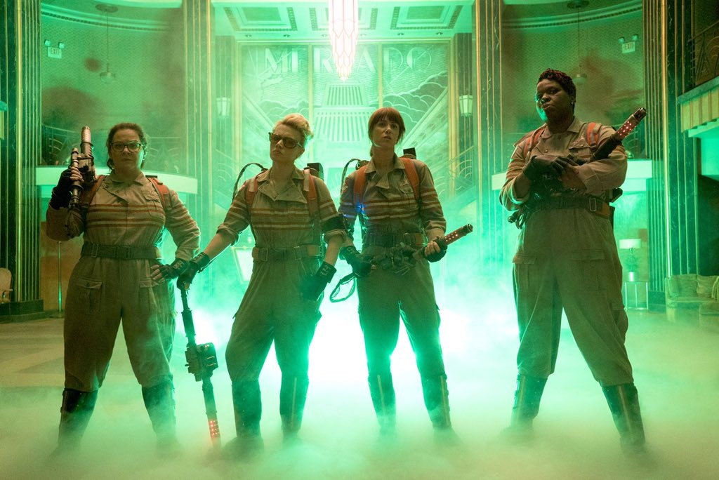 The First Official Photo From the New Ghostbusters Is Here and It's ~Glorious~