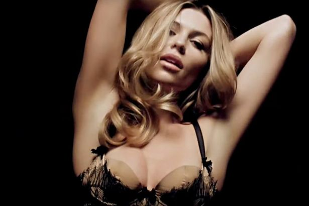 Abbey Clancy Writhes Around Naked On A Fur Rug In Love Magazine Advent Calendar Https