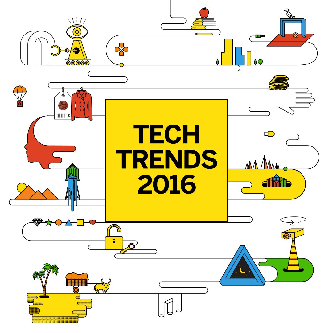 15 technology trends that will radically transform businesses in 2016 & beyond? #techtrends https://t.co/Px4yxVDJI6 https://t.co/HFEIH53f5W