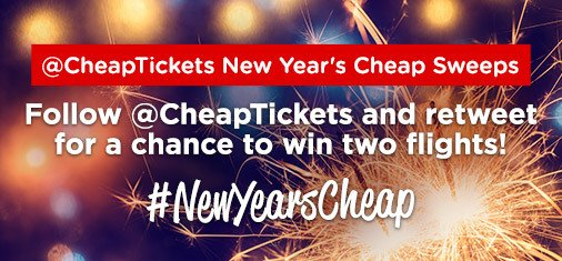 No plans for NYE? Follow and retweet to win a free flight for you and a friend. https://t.co/yGUJ54mAUY https://t.co/68nkwlMQyv