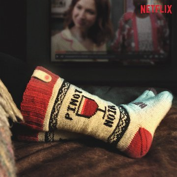 We made socks w/@Netflix that auto-pause your show when you fall asleep. https://t.co/5XhtVQEUlw https://t.co/sKypFmtHqs
