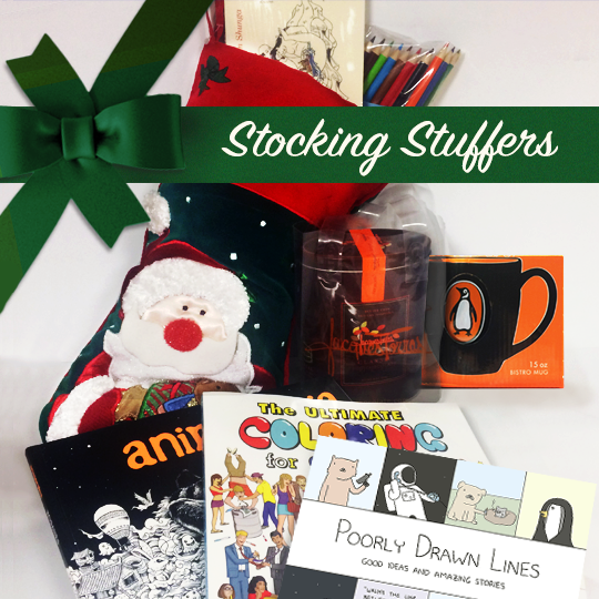 #win stocking stuffers galore! Featuring @PDLComics #animorphia #modernshunga & @colorfulhumor. RT to win. US only https://t.co/lZHH4JQiJL