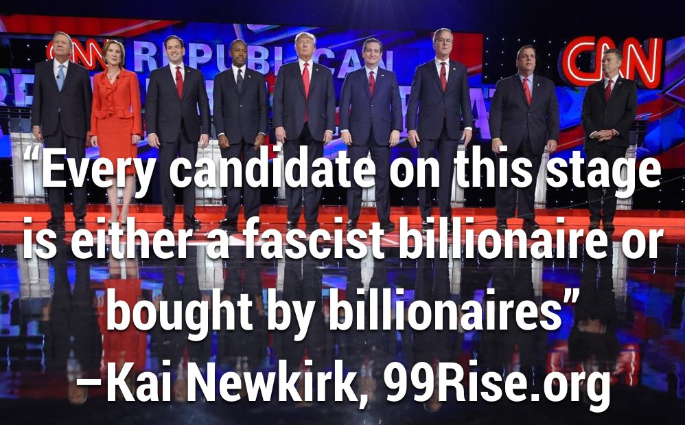 Can we be real for a sec? @99Rise #GOPDebate #DemocracySpring https://t.co/ievPZnwpzF