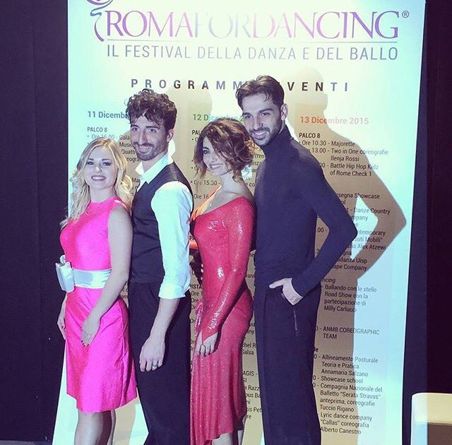 Anastasia via Instagram -533- @Kuzmina__A <3 ROMA FOR DANCING! 💃 @samuel_peron @samanta_togni @RaimondoTodaro https://t.co/WSx9XYsXsp