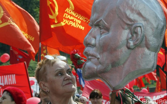 """Минюст: """"Коммунистическая партия была, но теперь ее нет и не будет"""" - Цензор.НЕТ 6821"""