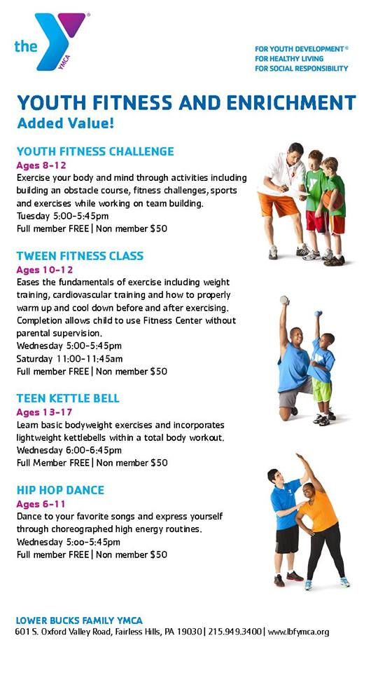 YMCA of Bucks County | Fairless Hills on Twitter: