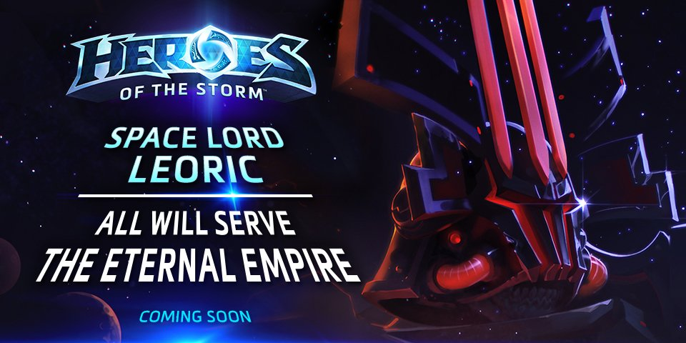 Heroes of the storm on twitter space lord leoric finds - Heroes of the storm space lord leoric ...