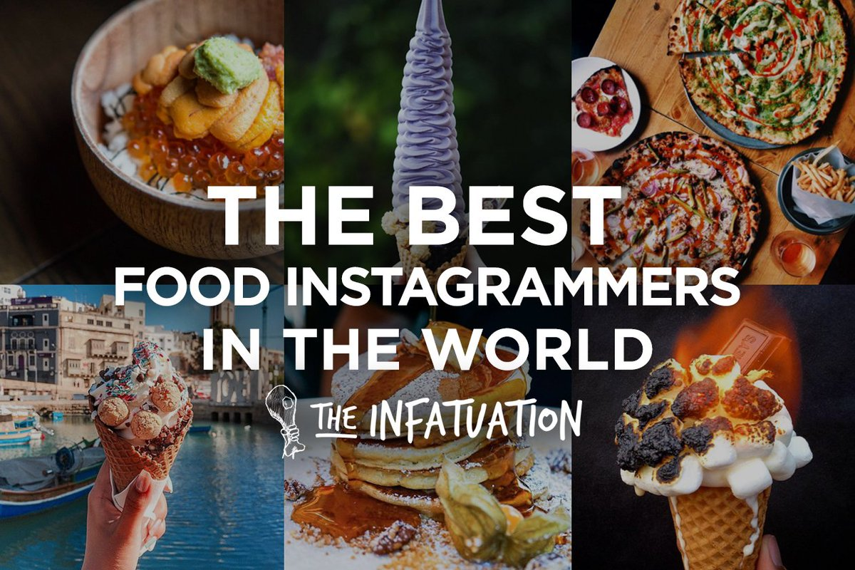 The Best Food @Instagram-mers IN THE WORLD, according to us. Follow accordingly: https://t.co/UkgV4gz66M https://t.co/QFXrXr2gWI
