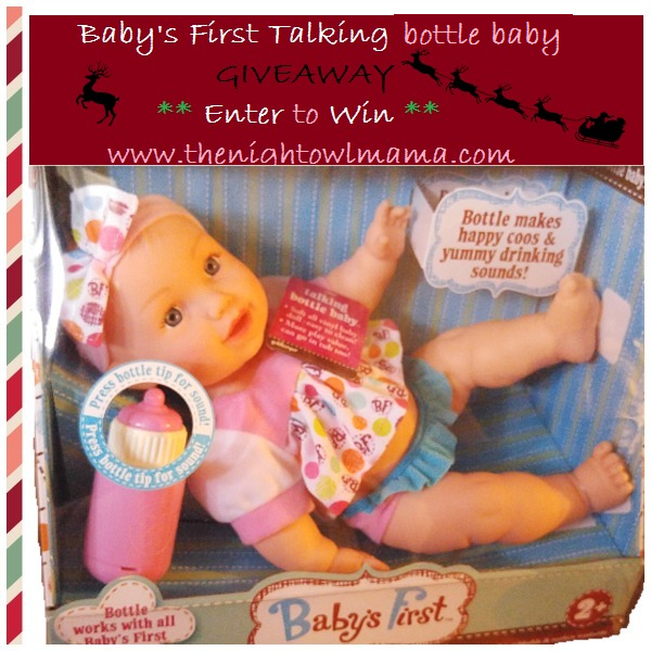 Baby's First Talking Bottle Baby. A Perfect First Doll  #Giveaway #ad https://t.co/7yIIojwvvE https://t.co/mTJuOt9K38