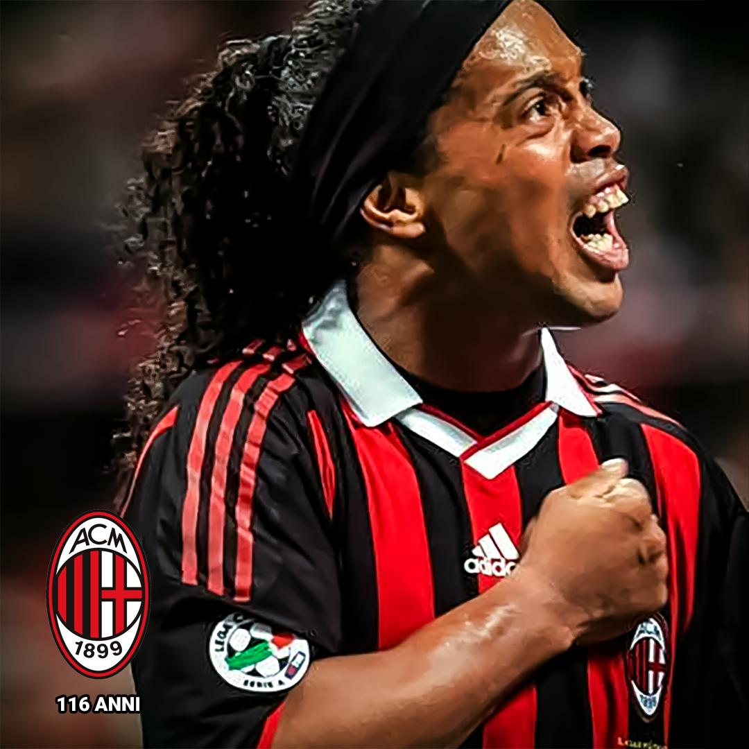 Parabéns @acmilan pelos 116 anos de história. Foi uma honra ter vestido a camisa desse time vitorioso! Grazie Milan!