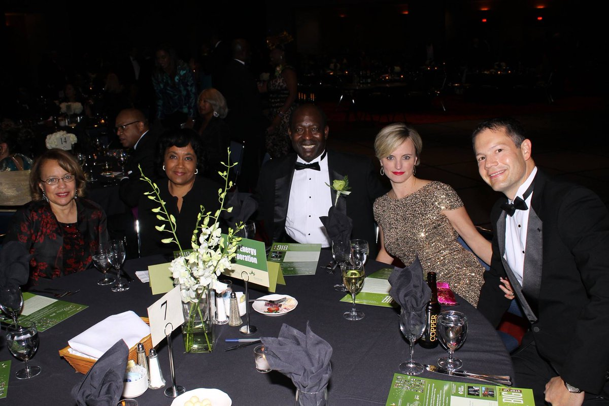 Spirit of the Center honorees from @DukeEnergy at the @HBGanttCenter Jazzy Holiday Gala. #BIGnight #Gantt2015 https://t.co/QuCxC6ihgr