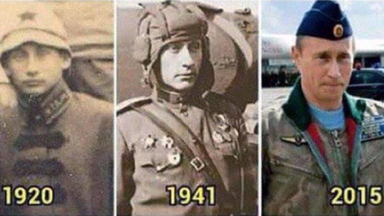 Putin è immortale o viaggia nel tempo