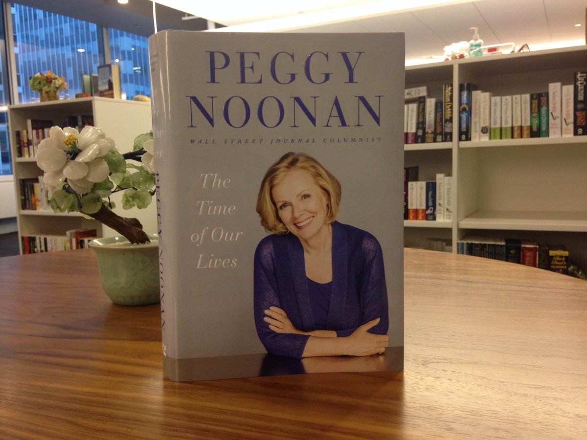 #12DaysOfGiveaways Day 12: RT to win a SIGNED copy of THE TIME OF OUR LIVES by @PeggyNoonanNYC! https://t.co/mlR3Ht8I01
