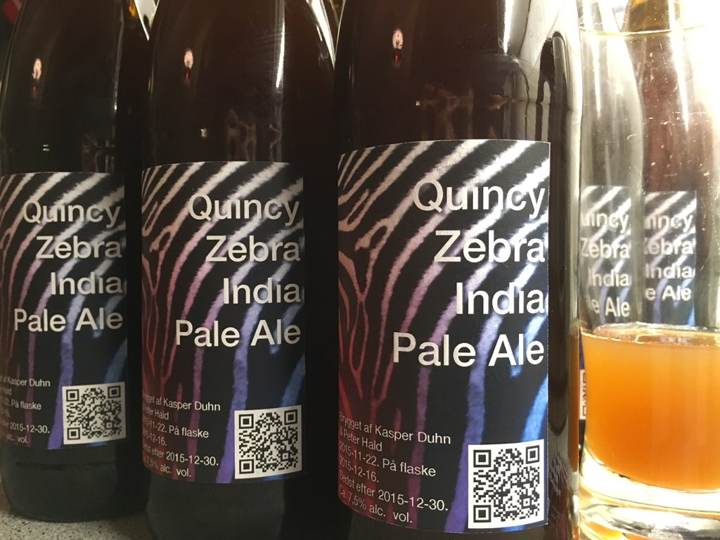 Quincy Zebra India Pale Ale @duhn