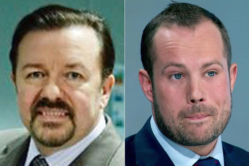 Who said it? David Brent or #TheApprentice's Richard Woods? It's harder than you think... https://t.co/l2jhUamw0a https://t.co/pDT5R07O6C