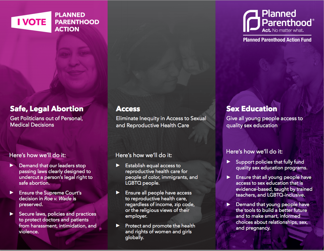 Thumbnail for Planned Parenthood Supporters#ActNoMatterWhat