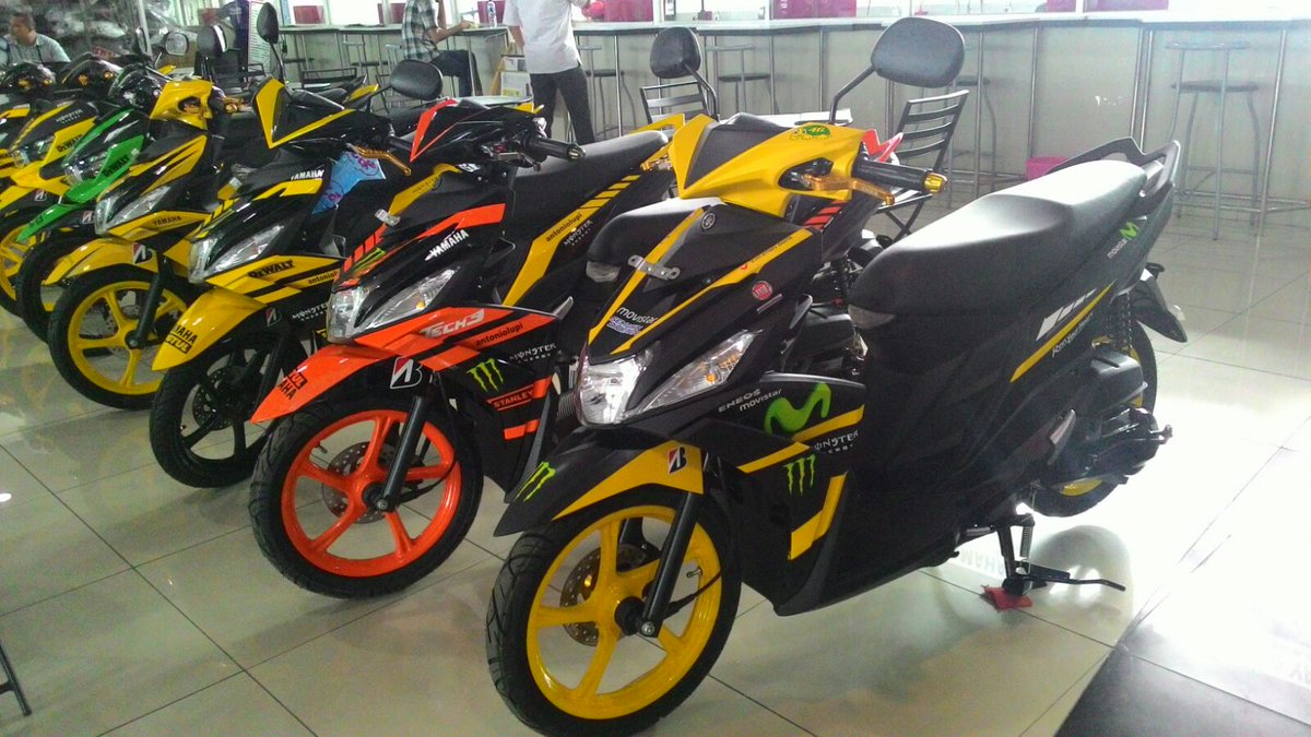 modifikasi yamaha mio m3 125 blue core  paling bagus