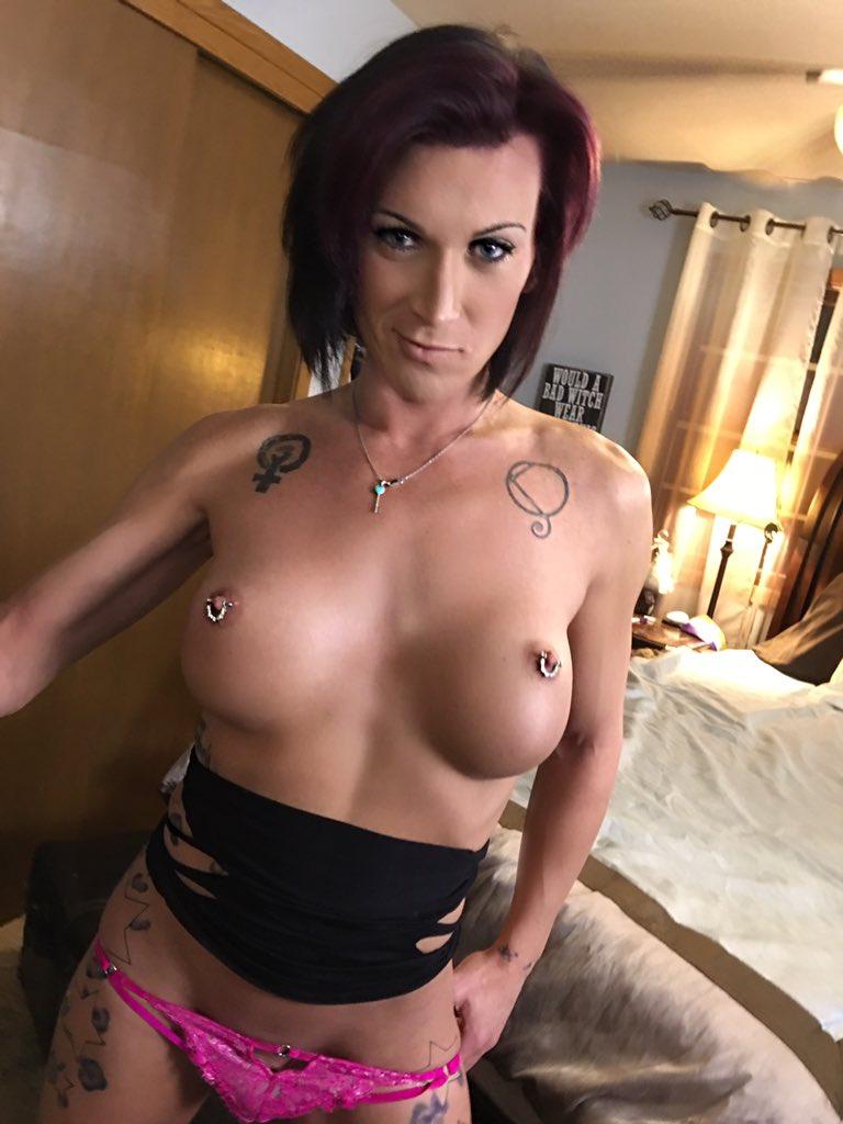Cute redhead big tits