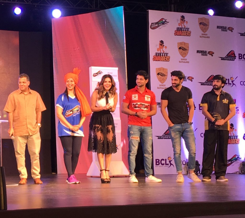 Box Cricket League season 2 launh - Divyanka Tripathi, Sunny Leone, Shakti Arora, Karan Wahi