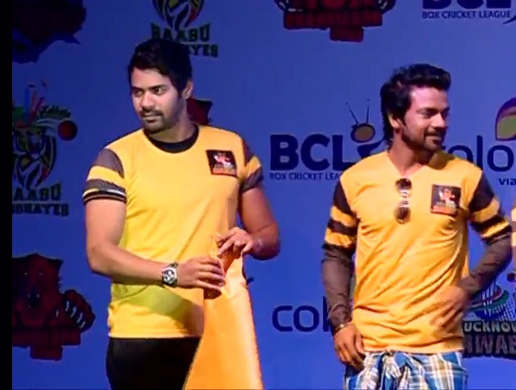 Shabbari Ahluwalia from Sunny Leone's Chennai Swaggers team - Box Crciket league season 2 launch