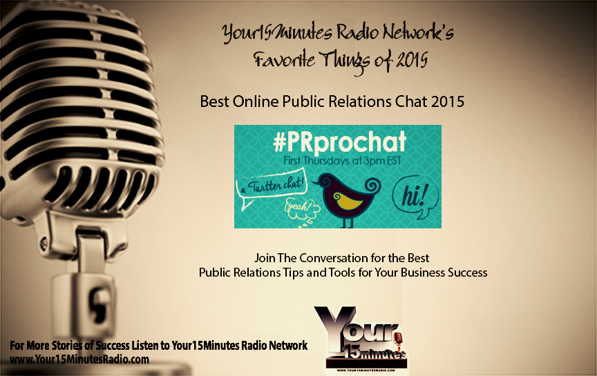 Your15Minutes Radio Network - Favorite Things of 2015 Countdown  @morgancarrie  #prprochat https://t.co/OmEoOSSZgy