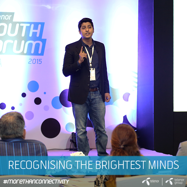 Telenor offers youth in India a global platform to exchange ideas for bright future. #morethanconnectivity https://t.co/eogw8rT0bN
