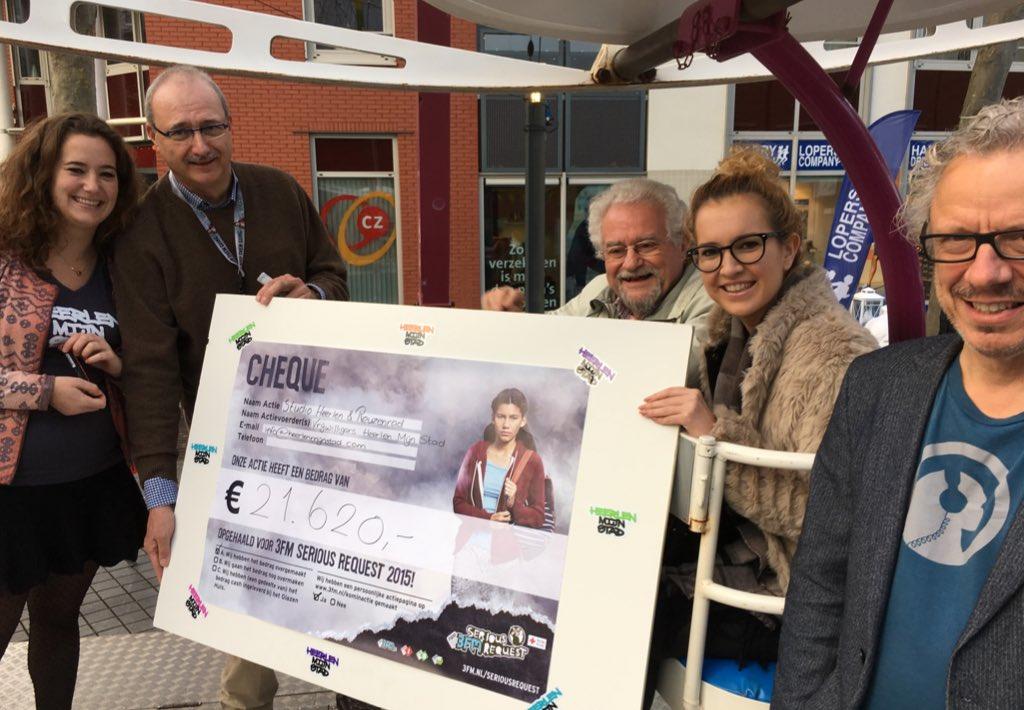 Wow. @HeerlenMijnStad haalt 21.620 euro met reuzenrad en mijnstudio #sr15 #heerlen #heerlenmijnstad https://t.co/yZ8GotQr5X