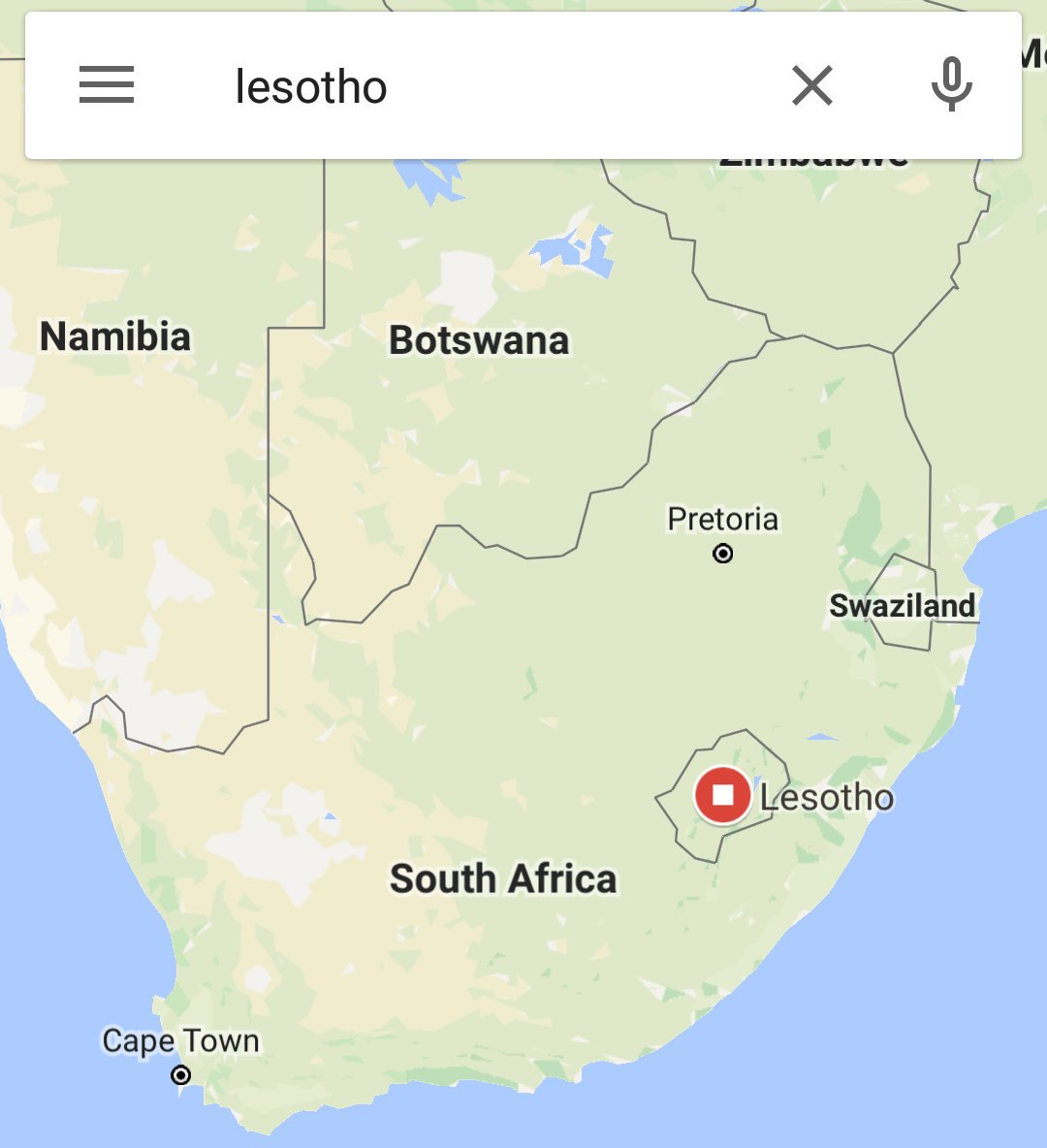Ajala Ng On Twitter Fyi Lesotho Is A Country Inside South Africa