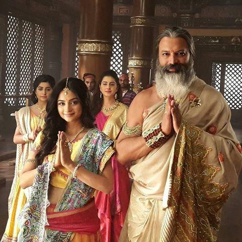 King Janak and Sita in Siya Ke Ram Star Plus Image/Picture/Photo