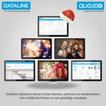 Image for the Tweet beginning: Dataline Solutions wenst al haar