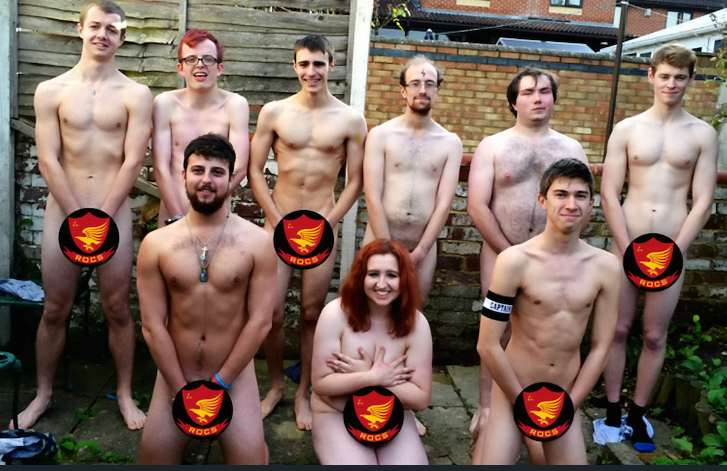 Harry Potter-mad students bare all for naked calendar to